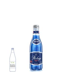 Cisowianka Perlage w butelkach szklanych